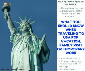 Visitor Health Insurance | India Network Health Insurance